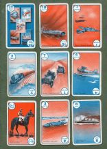 Collectible Vintage cards game speed  1938. First edition  by Pepys